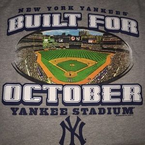 Men's NY New York Yankees T-shirt XXL - 2XL